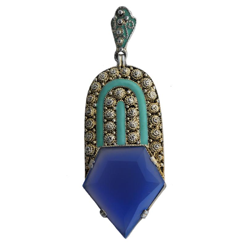 theodor-fahrner-art-deco-pendant-blue-v